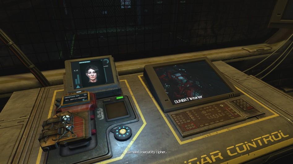 Это Кэтрин. Она – едва ли не единственный ваш собеседник на протяжении всей игры. И да, она в компьютере.
