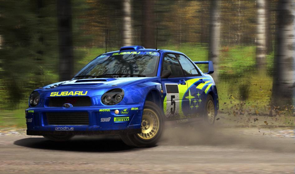 Subaru Finland Slide
