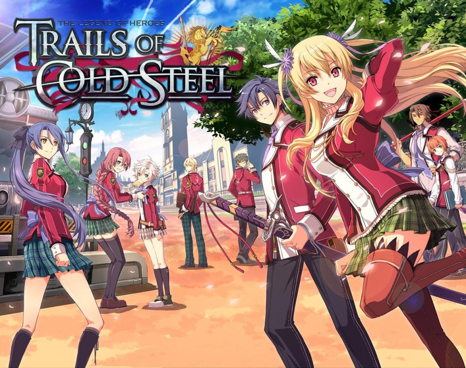 The Legend of Heroes Trails of Cold Steel cover