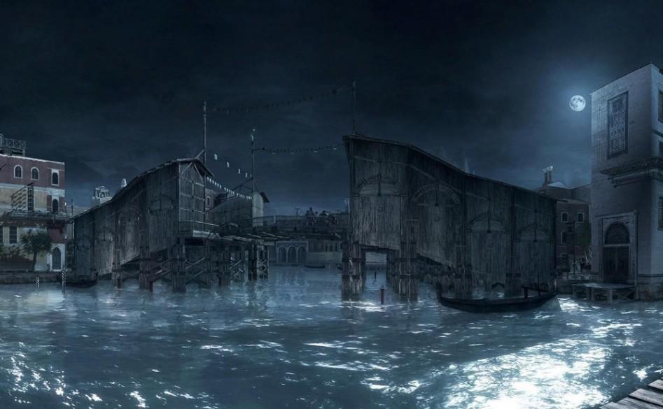 Мост Риальто в Assassin's Creed II.
