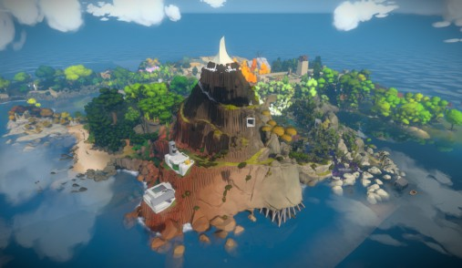 the witness island