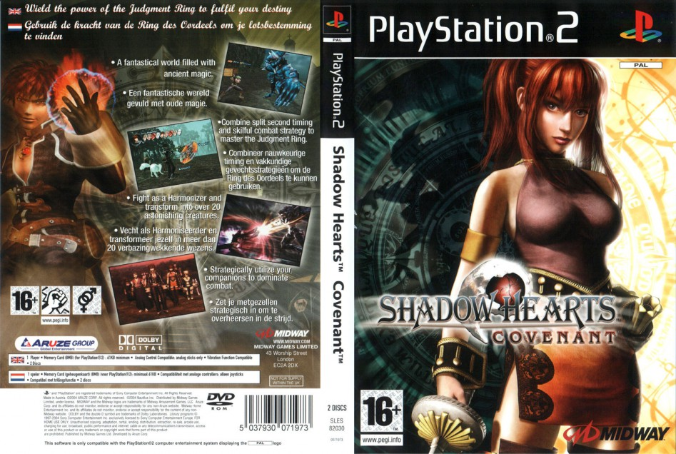 Shadow Hearts Covenant cover