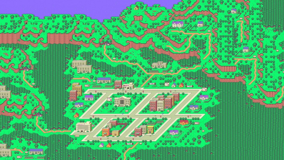 Earthbound map