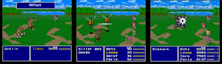 ff5 battle
