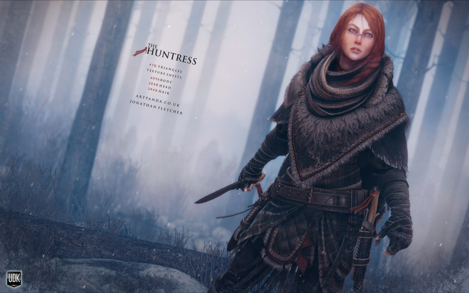 the huntress model