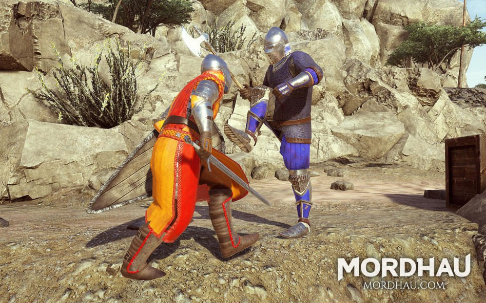 Mordhau medieval first-person fighting