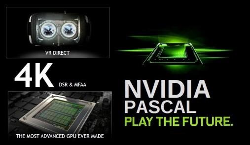 Nvidia Pascal k play the future