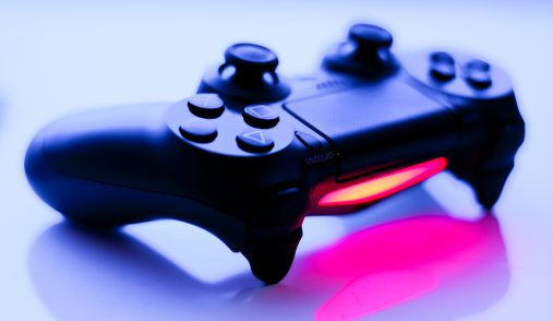 PS Controller purple