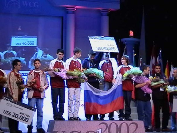 Легендарная победа M19 по Counter-Strike на WCG 2002