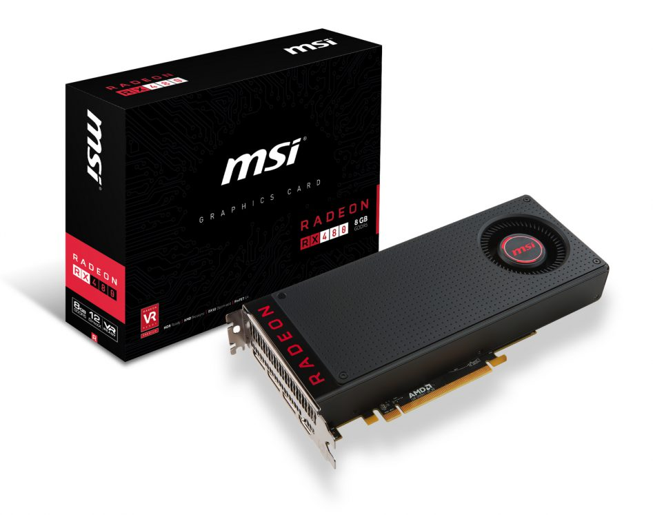 msi radeon rx 480 box