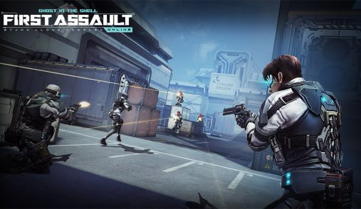 Ghost In The Shell First Assault open beta