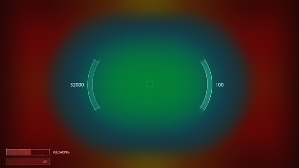 Рис. D2: Обновлённые элементы интерфейса расположены у центра первичного локуса внимания.
