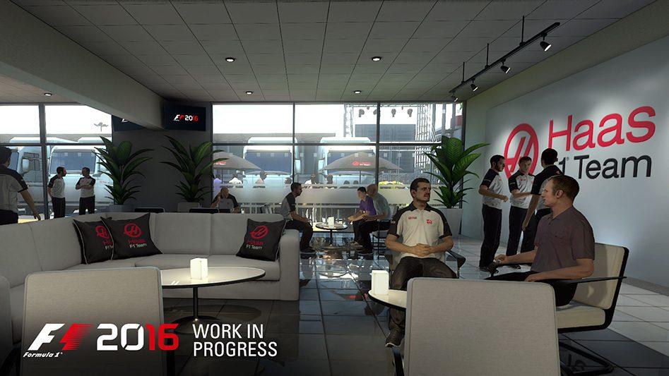F1 2016 engineer team
