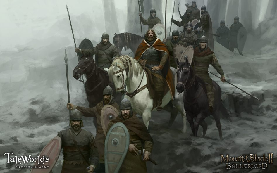 mount and blade bannerlord artwork