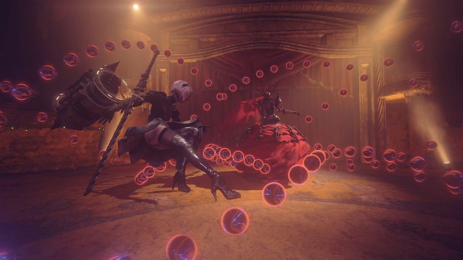nier automata opera boss fight