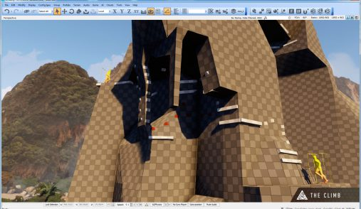 climb CRYENGINE Sandbox