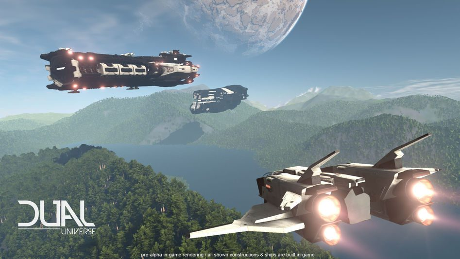 ships and forest dual universe