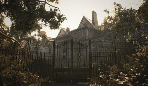 resident evil  house
