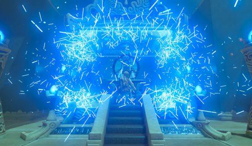 Zelda BotW particles