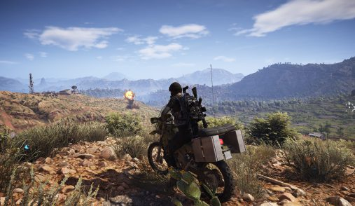 ghost recon wildlands bike