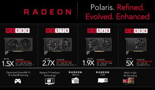 Radeon Comparison