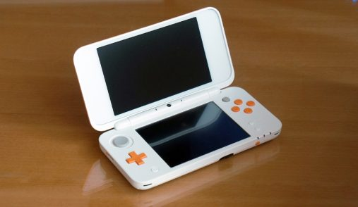 New Nintendo DS XL display