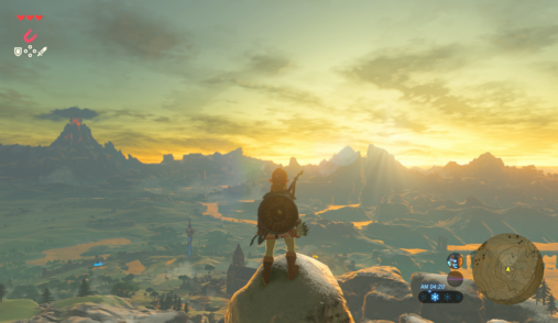Zelda spatial composition