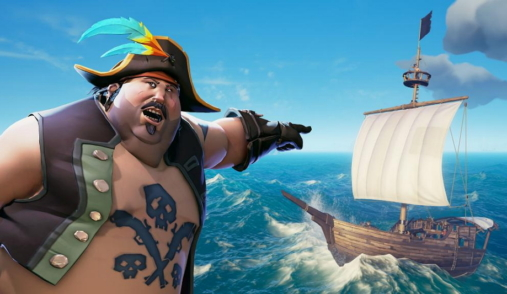 Sea of Thieves the pirate is calling