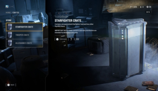 battlefront ii loot crate