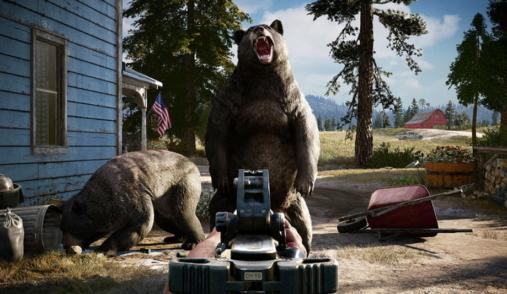 Far Cry  angry bear