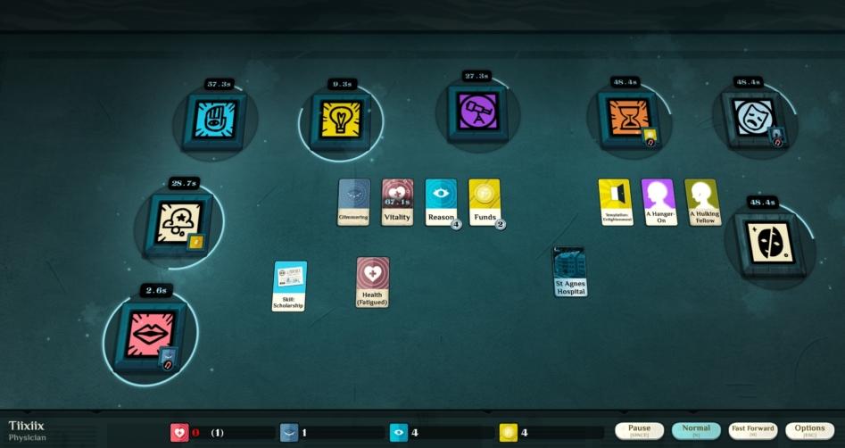 Библиотека Steam: Cultist Simulator