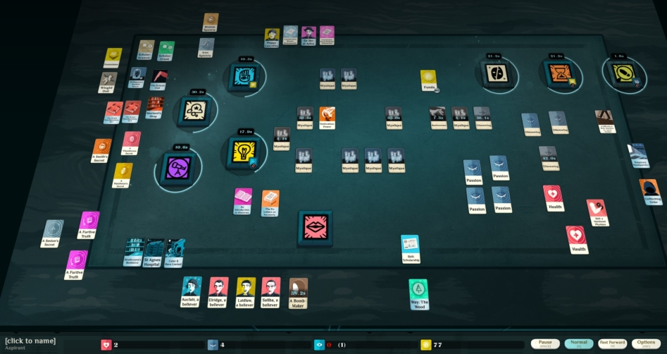 Библиотека Steam: Cultist Simulator