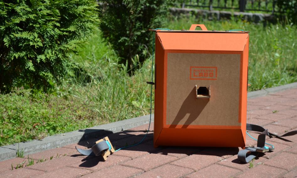Дурилка картонная, или Обзор Nintendo Labo Robot Kit