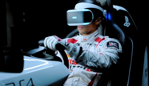 playstation vr racing