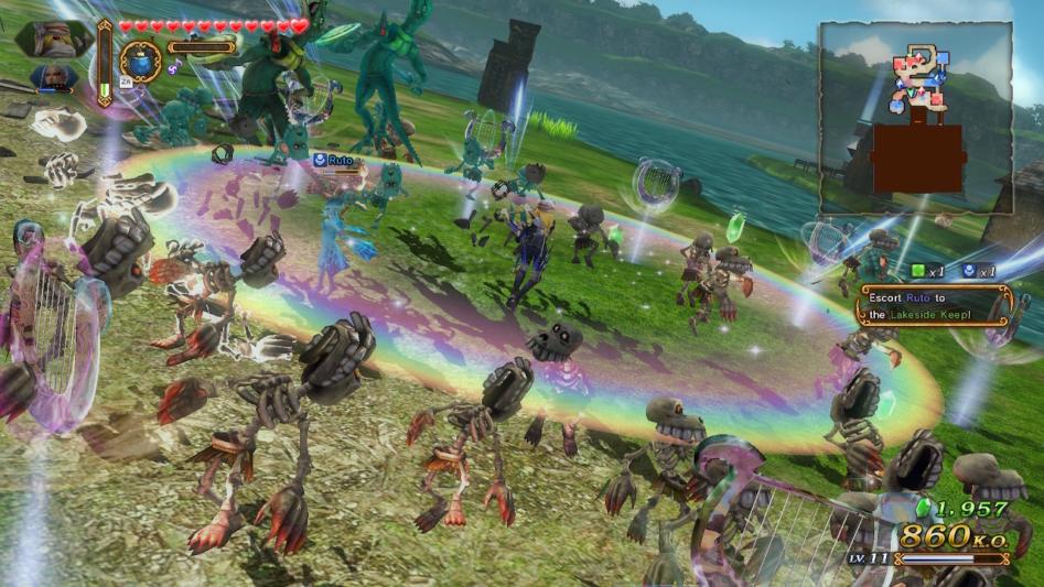 Разборки по-хайрульски. Обзор Hyrule Warriors: Definitive Edition