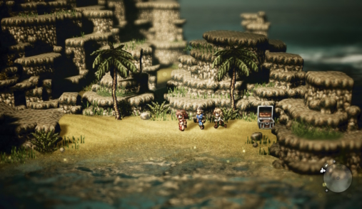 octopath traveler beach