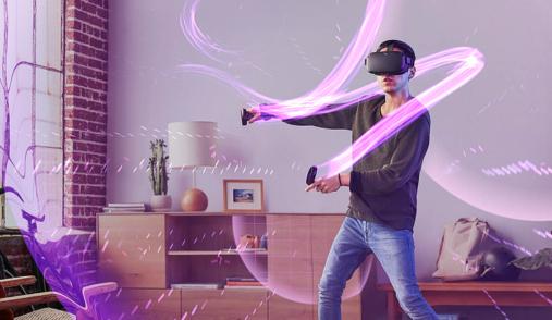Oculus Quest Swirl