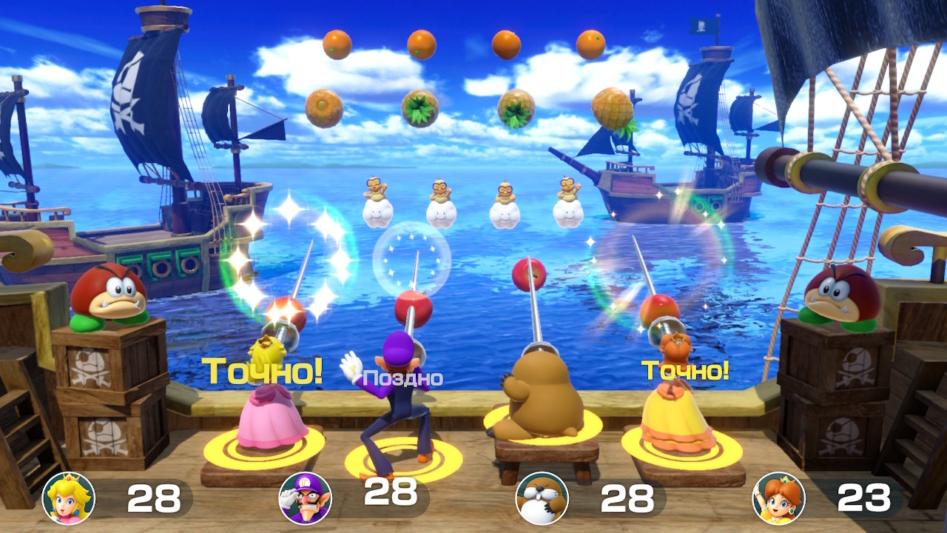 Обзор Super Mario Party. Тамада усатый, и конкурсы интересные