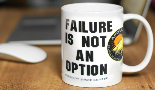 Failure Is Not an Option CoffeeMug