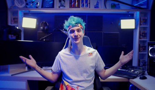 Ninja Stream Room Behind Scenes