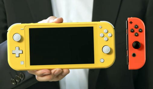 switch lite size