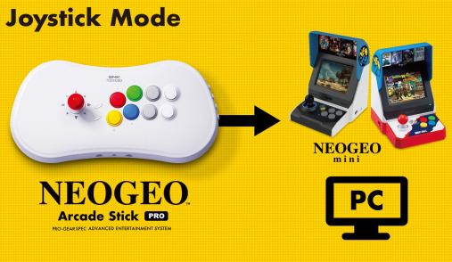 neogeo joystick mode