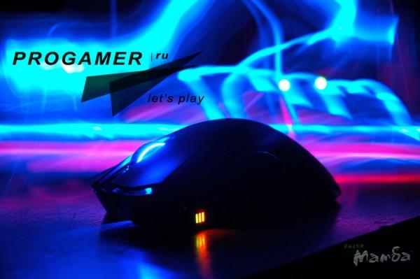 Обзор беспроводной мыши Mamba от компании Razer