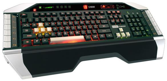 Клавиатура Cyborg от Saitek